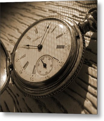 The Pocket Watch Metal Print by Mike McGlothlen