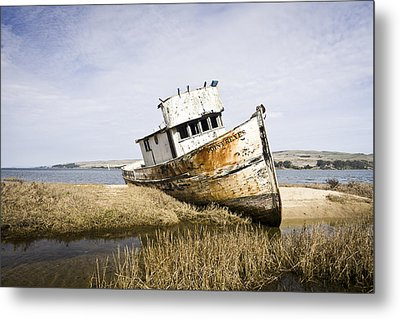 The Point Reyes Metal Print by Priya Ghose