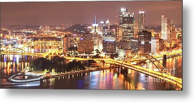 The Point To Ft. Pitt Metal Print