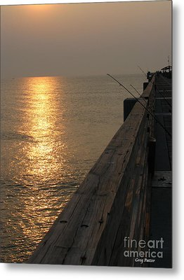 The Pole Metal Print by Greg Patzer