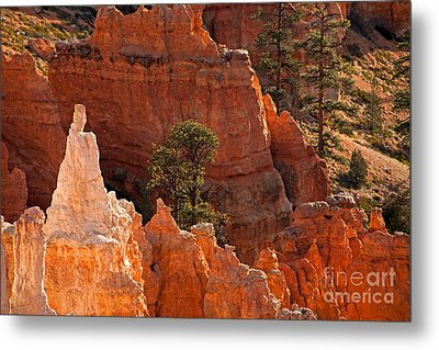 The Popesunrise Point Bryce Canyon National Park Metal Print