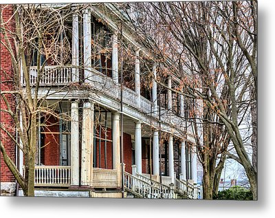 The Porch Metal Print by JC Findley