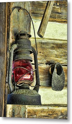 The Porch Light Metal Print by Jan Amiss Photography