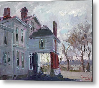 The Porter Mansion Metal Print by Ylli Haruni