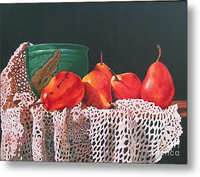 The Potters Bowl Metal Print by Sarah Luginbill