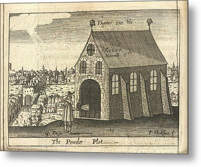 The Powder Plot Metal Print by British Library
