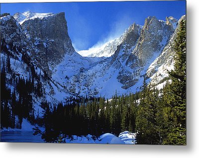The Power And The Glory Metal Print by Eric Glaser