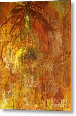 Metal Print featuring the painting The Power Of Love by Delona Seserman