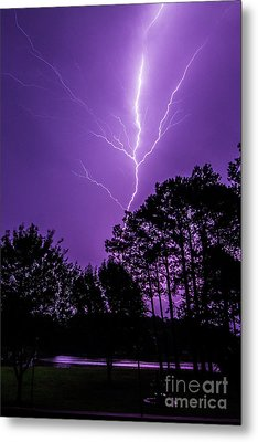 The Power Metal Print by Will  Gottwald