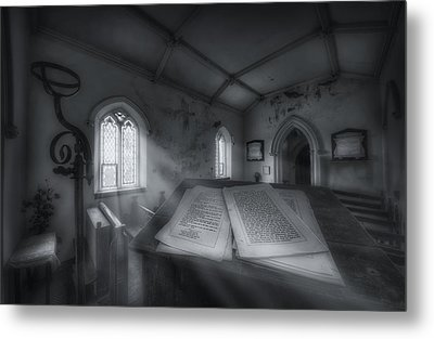 The Preachers Place Metal Print