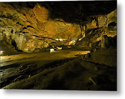 The Prehistoric Cavern Metal Print by Gina Dsgn