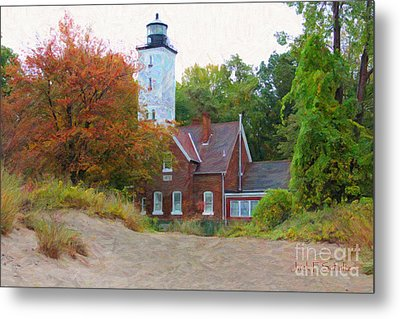 The Presque Isle Lighthouse Metal Print