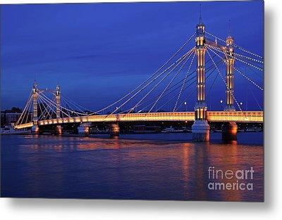 The Prettiest Bridge In Town. Metal Print by Pete Reynolds