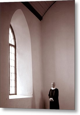 The Priest  C# 42 Metal Print