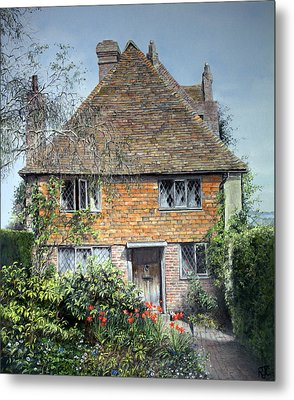 The Priests House Sissinghurst Castle Metal Print
