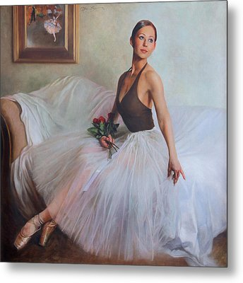 The Prima Ballerina Metal Print