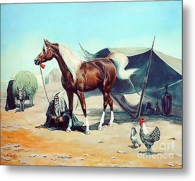 The Prize Metal Print by Jeanne Newton Schoborg