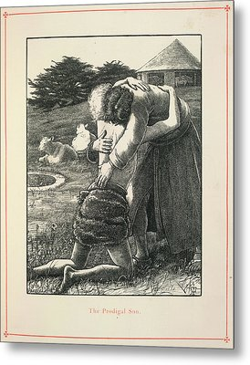 The Prodigal Son Metal Print by British Library