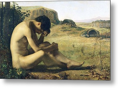 The Prodigal Son  Metal Print by Emile Salome