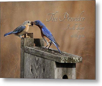 The Provider Metal Print by Lori Deiter