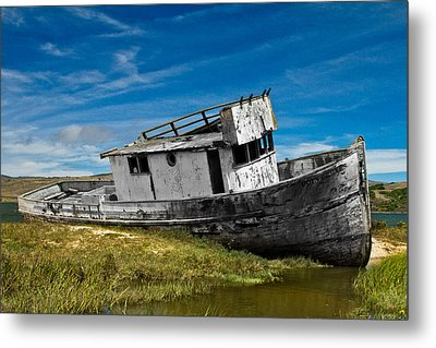 The Pt. Reyes Muted Metal Print by Bill Gallagher
