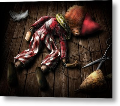 The Puppet... Metal Print