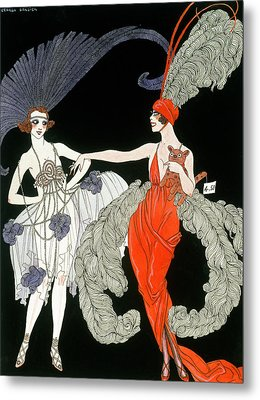 The Purchase  Metal Print by Georges Barbier