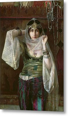The Queen Of The Harem Metal Print by Max Ferdinand Bredt