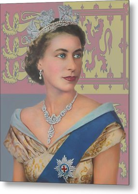 Metal Print featuring the photograph The Queen by Roy  McPeak