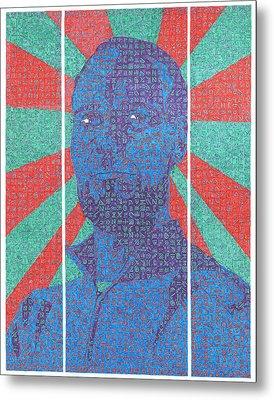 The Question Metal Print by Daniel Zaug
