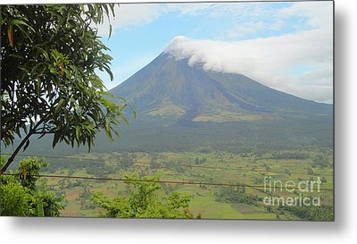 The Quite Mayon Metal Print