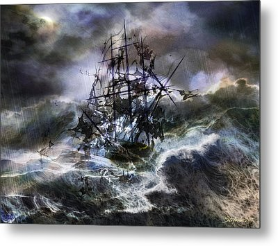 The Rage Of Poseidon IIi Metal Print