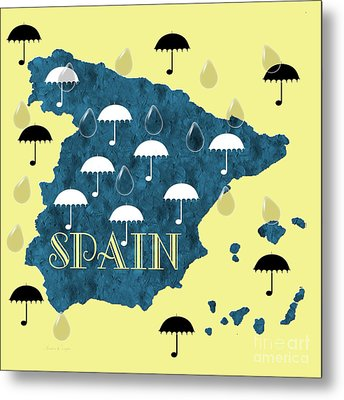 The Rain In Spain Metal Print