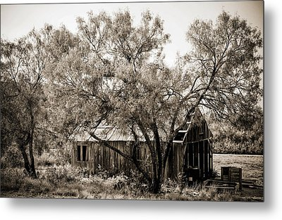 Metal Print featuring the photograph The Ranch  by Amber Kresge