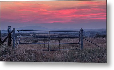 The Ranch Metal Print by Peter Tellone