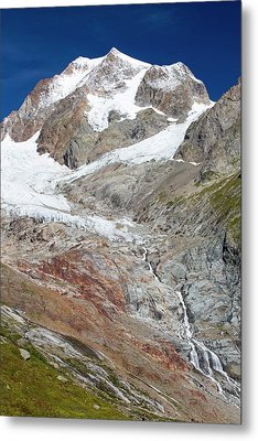 The Rapidly Retreating Glaciers Metal Print by Ashley Cooper