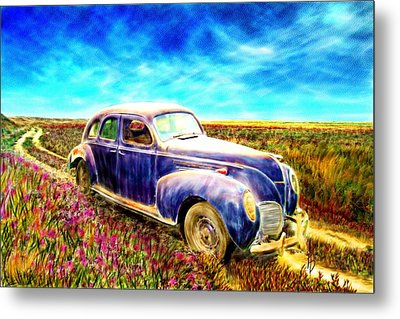 The Rare And Elusive Lincoln Zephyr Metal Print