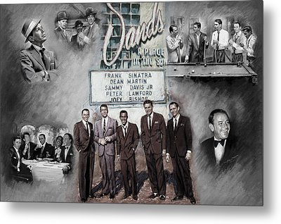 The Rat Pack Metal Print