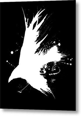The Raven IIl Metal Print