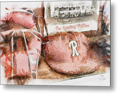 The Reading Phillies Metal Print by Trish Tritz