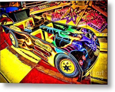 The Real Batmobile Metal Print by Olivier Le Queinec