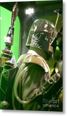 The Real Boba Fett 5 Metal Print