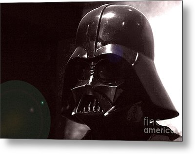 the Real Darth Vader Metal Print