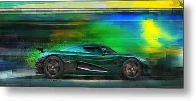 The Real Green Monster Metal Print