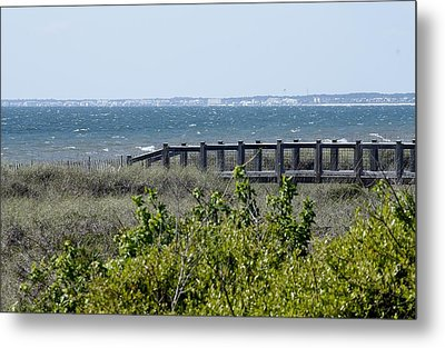 The Real Gulf Coast Metal Print by Debra Forand