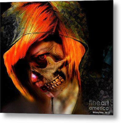 The Reaping   Metal Print by Brittany Perez