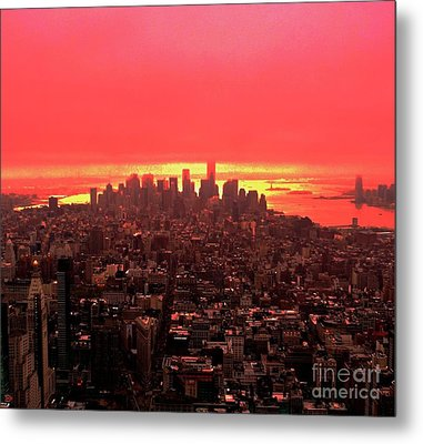 The Red Man Metal Print