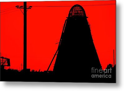 The Red Mill Metal Print by Jessica Shelton