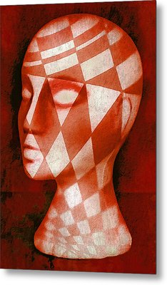 The Red Phantom Metal Print by Jeff  Gettis