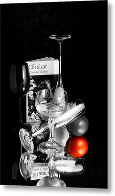 The Red Tomato Metal Print